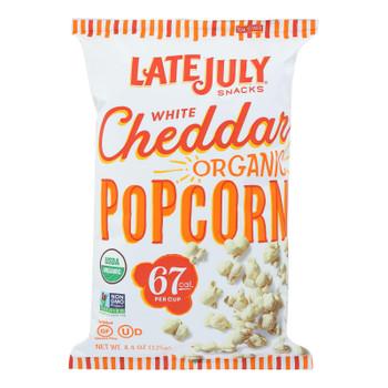 Late July Snacks Organic Popcorn - Case Of 12 - 4.4 Oz - 2314557