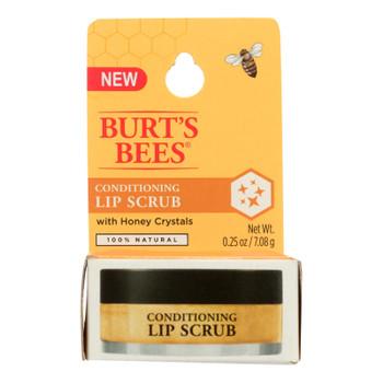 Burt's Bees Conditioning Lip Scrub With Honey - Case Of 4 - .25 Oz