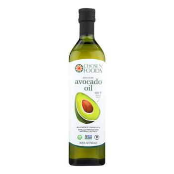 Chosen Foods 100% Pure Avocado Oil - Case Of 6 - 25.4 Fz