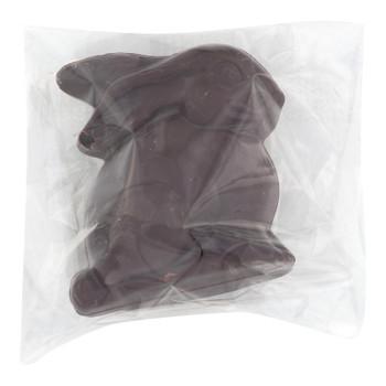 Emvi Chocolate - Chocolate Dark Fair Mini Bunny - Case Of 3-45/.5 Oz