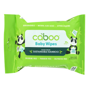 Caboo Soft & Gentle Hypoallergenic Baby Wipes - Case Of 24 - 30 Ct