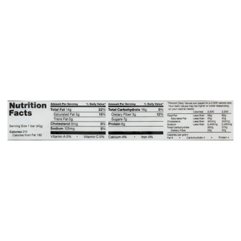 Fody Food Company Dark Chocolate Nuts & Sea Salt Snack Bar - Case Of 12 - 1.41 Oz