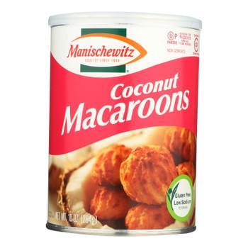 Manischewitz - Macaroon Coconut Kosher For Passover - Case Of 12-10 Oz