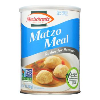 Manischewitz Matzo Meal  - Case Of 12 - 1 Lb