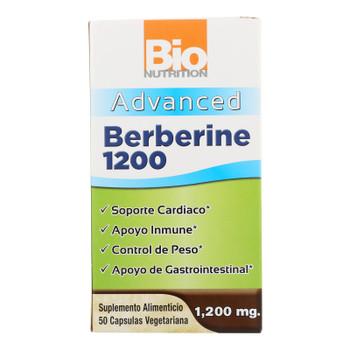Bio Nutrition - Berberine 1200 Advanced - 1 Each - 50 Vcap