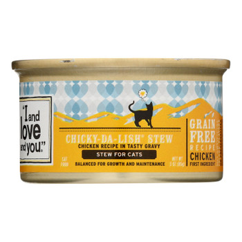 I And Love And You - Cat Fd Can Chicken Chnk W/gr - Case Of 24 - 3 Oz