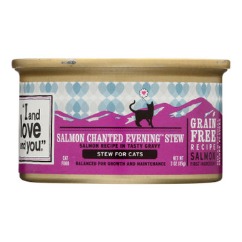 I And Love And You - Cat Fd Can Slmn Chnk W/gr - Case Of 24 - 3 Oz