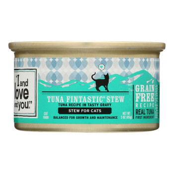 I And Love And You - Cat Fd Can Tuna Chnk W/gr - Case Of 24 - 3 Oz