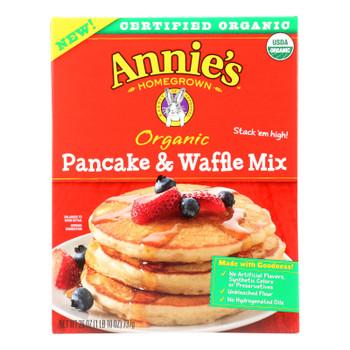 Make Annie's Organic Pancake & Waffle Mix And  - Case Of 8 - 26 Oz