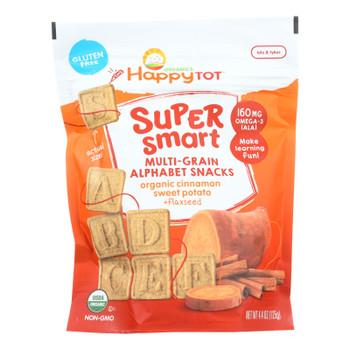Happy Tot Toddler Snack, Cinnamon Sweet Potato  - Case Of 8 - 4.4 Oz