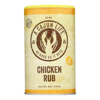 A Cajun Life - Rub Chicken - Case Of 6 - 8 Oz