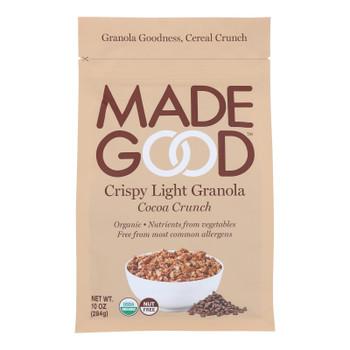 Made Good Crispy Light Granola Cereal - Case Of 8 - 10.0 Oz