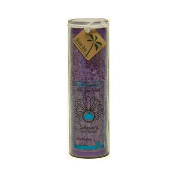 Aloha Bay - Unscented Chakra Jar Happiness Violet - 1 Candle