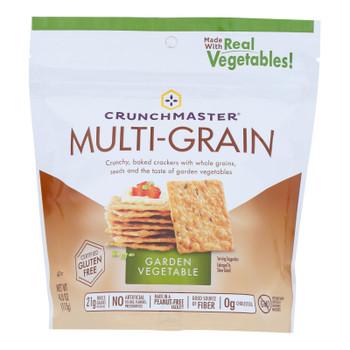 Crunchmaster - Multigrn Cracker Roasted Vegtbl - Case Of 12 - 4 Oz