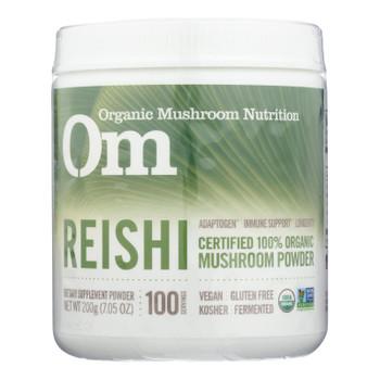 Om - Reishi Organic Powder 200grm - 1 Each - 7.05 Oz