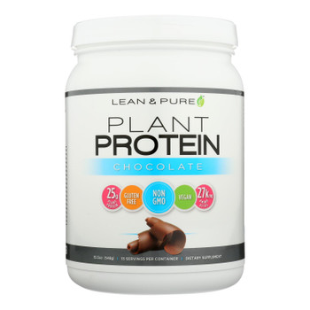 Lean & Pure - Prot Plant Chocolate - 1 Each - 19.30 Oz