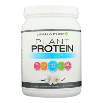 Lean & Pure - Prot Plant Vanilla - 1 Each - 17.4 Oz