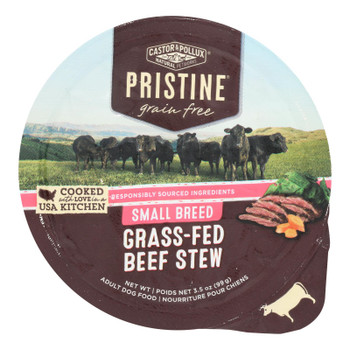Castor & Pollux - Dog Fd Green Fr Beef Small - Case Of 12 - 3.50 Oz