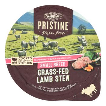 Castor & Pollux - Dog Fd Green Fr Lamb.small - Case Of 12 - 3.50 Oz