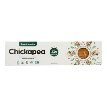 Chickapea Pasta - Pasta Organic Linguine - Case Of 6 - 8 Oz