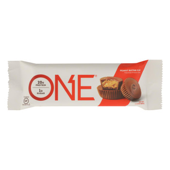 One Bar - Bar Protein Peanut Butter Cup - Case Of 12 - 60 Grm