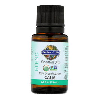 Garden Of Life - Ess Oil Organic Calm Blend - 1 Each-.5 Fz