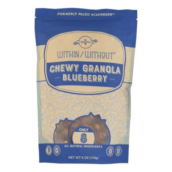 Within/without - Granola Blueberry Paleo - Case Of 6 - 6 Oz
