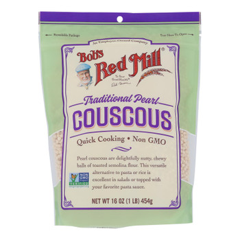 Bob's Red Mill - Couscous Pearl Natural - Case Of 4 - 16 Oz