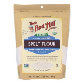 Bob's Red Mill - Flour Spelt - Case Of 4 - 20 Oz
