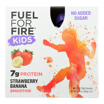 Fuel For Fire - Prot Smthie Kid Strw Bana - Case Of 6 - 4/12.8 Z