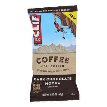 Clif Bar - Bar Coffee Dark Chocolate Mch - Case Of 12 - 2.4 Oz