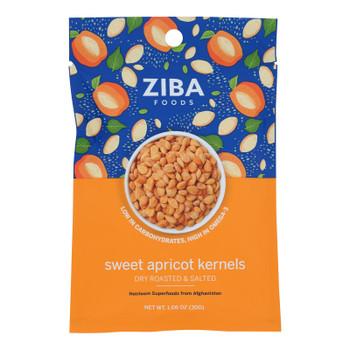 Ziba Foods - Kernals Apricot Roasted Salted - Case Of 24-1.06 Oz