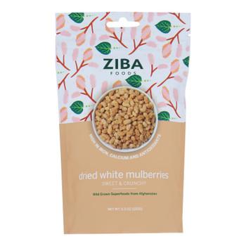 Ziba Foods - Dried Fruit Wht Mulbrries - Case Of 6-5.3 Oz