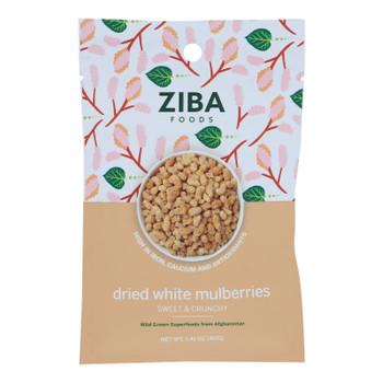 Ziba Foods - Dried Fruit Wht Mlbrries - Case Of 24-1.41 Oz