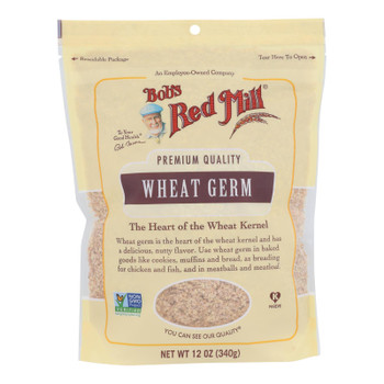 Bob's Red Mill - Cereal Wheat Germ - Case Of 4-12 Oz