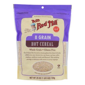Bob's Red Mill - Cereal 8 Grain Gluten Free - Case Of 4-25 Oz