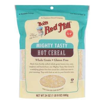 Bob's Red Mill - Cerial Mighty Taste Gluten Free - Case Of 4-24 Oz
