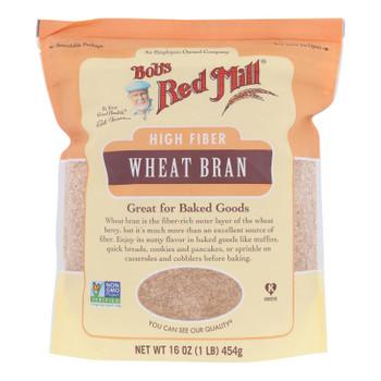 Bob's Red Mill - Wheat Bran - Case Of 4-16 Oz