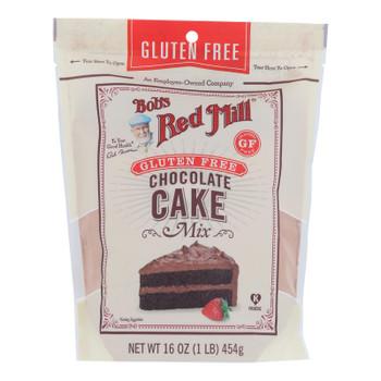 Bob's Red Mill - Cake Mix Chocolate Gluten Free - Case Of 4-16 Oz