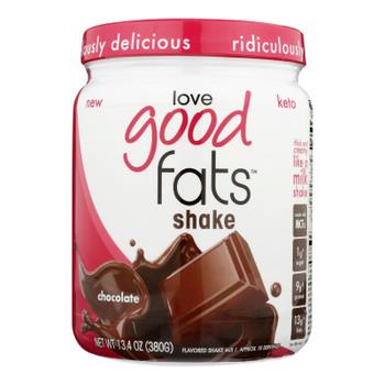 Love Good Fats - Shake Chocolate - Each Of 1-13.4 Oz