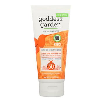 Goddess Garden - Snscrn Kids Natural Spf50 Tbe - 1 Each 1-6 Oz