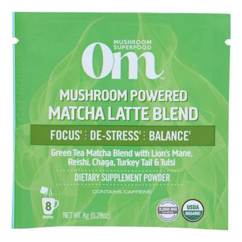 Om - Matcha Lte Mushroom Pwdr - 1 Each 1-10 Ct