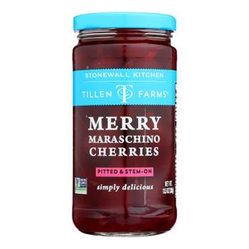 Tillen Farms - Cherries Maraschino - Case Of 6-13.5 Oz