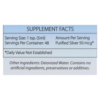 Silver Biotics - Suppl Dly Immun Support - 1 Each 1-8 Fz