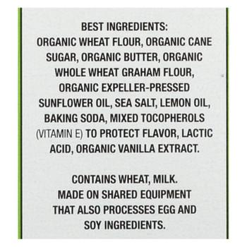 Annie's Homegrown Organic Cookie Bites, Lemon Drop  - Case Of 12 - 6.5 Oz