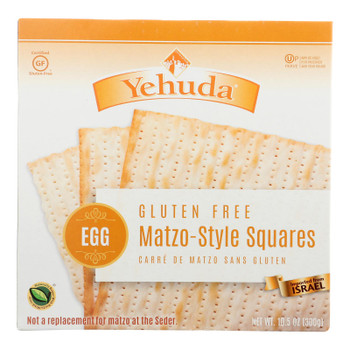 Yehuda Matzo-style Squares - Case Of 12 - 10.5 Oz