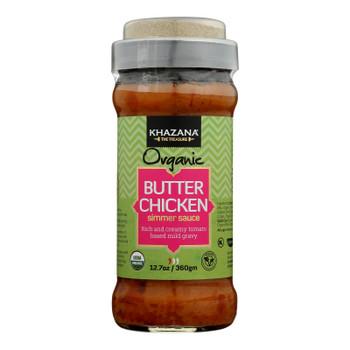 Khazana - Sim Sauce Butter Chicken - Case Of 6 - 12.7 Oz