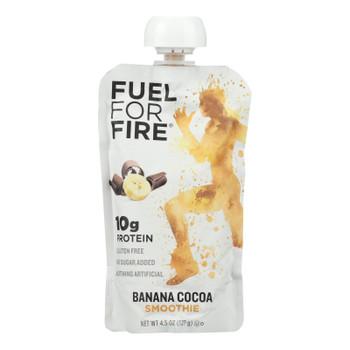 Fuel For Fire Banana Cocoa Smoothie, Banana Cocoa - Case Of 12 - 4.5 Oz