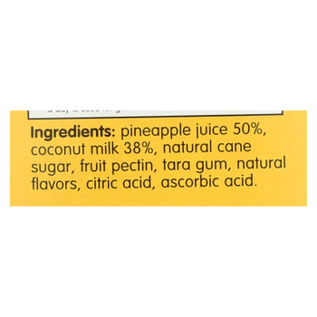Smooze - Fruit Ice Coconut W/pineap - Case Of 6-17.6 Fz