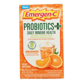 Emergen-c - Probiotics Immune Orange - 1 Each - 30 Ct